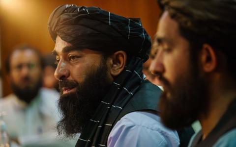 Übergangsregierung in Afghanistan: Innenminister Siradschuddin Hakkani ist Vorstand einer als terroristisch eingestuften Gruppierung