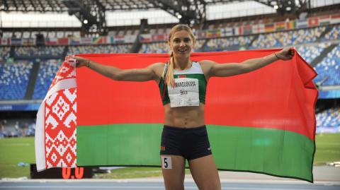 """Nach Zuflucht bei der japanischen Polizei: Belarussische Sprinterin ist """"sicher"""""""