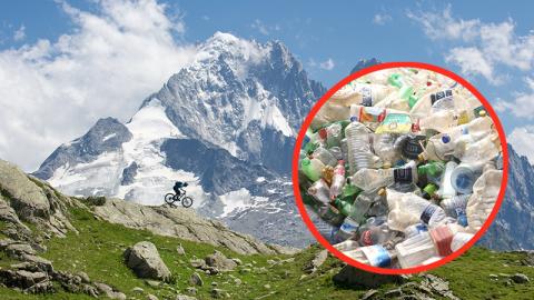 Umweltverschmutzung: Es regnet Plastik in den Alpen!