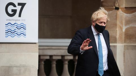 G7: Boris Johnson sorgt mit seiner Hotelwahl für Empörung