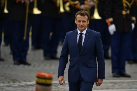 Emmanuel Macron als Hitler-Karikatur: Der französische Präsident reicht Klage ein
