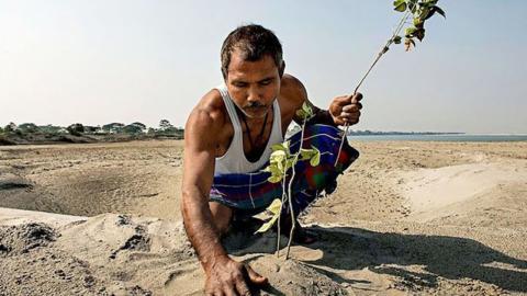 Aus Wüste wird Wald: Mann pflanzt seit über 40 Jahren jeden Tag einen Baum