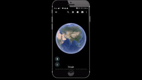 Mann entdeckt gruselige Erscheinung auf Google Earth