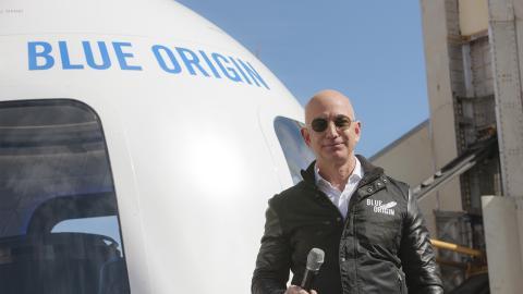 """Tourismus im All: Blue Origin eröffnet Auktion für Sitz bei erster """"spektakulären Weltraumtourismusreise"""""""