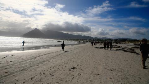 Seltsames Objekt am Strand: Die Behörden finden traurige Überreste