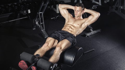 Workout-Tipp: So bekommst du V-förmige Bauchmuskeln