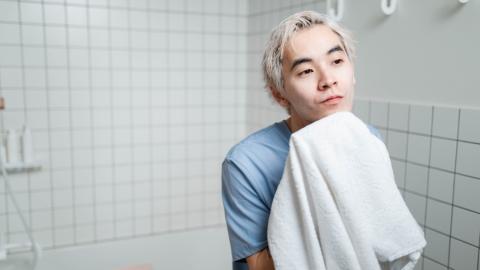 Hygiene: Wie häufig sollte man sein Handtuch wechseln?