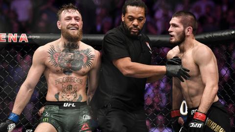 UFC zeigt erstmals ein Video der Schlägerei zwischen dem Nurmagomedov- und dem McGregor-Clan