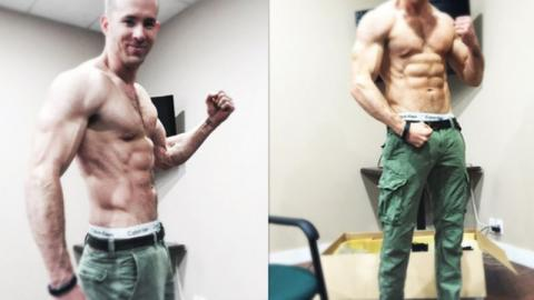 Ryan Reynolds: So hart trainiert er seinen Body für Deadpool 3