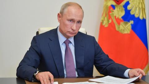Russland: Putin sichert sich lebenslange Straffreiheit