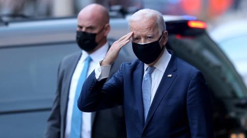 """Biden nach Sturm auf US-Kapitol: """"Unsere Demokratie wird angegriffen"""""""