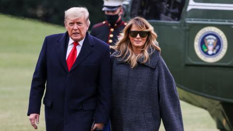 Donald und Melania Trump: So haben sie sich tatsächlich kennengelernt!