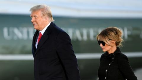 Donald und Melania Trump: Schuldenberg größer als gedacht