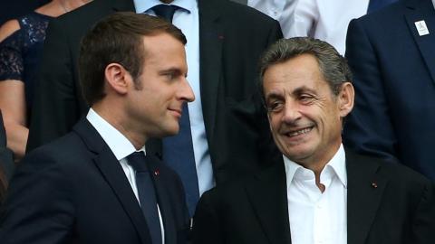 """Nicolas Sarkozy: """"Emmanuel Macron in großer Gefahr!"""""""