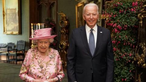 """Joe Biden zu Gast bei der Queen: """"Sie erinnert mich an meine Mutter"""""""