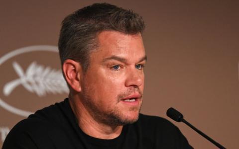Matt Damon spricht beim Festival von Cannes offen über seinen größten Karrierefehler
