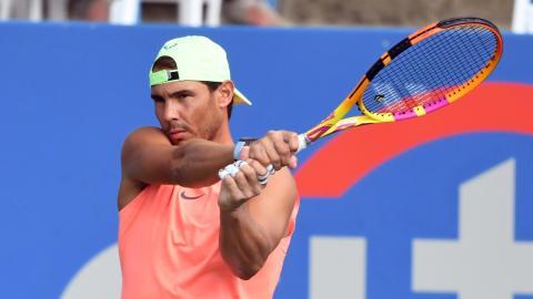 Rafael Nadal: Wegen seiner degenerativen Erkrankung ist kein Comeback vor 2022 möglich