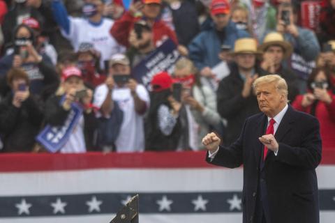 Donald Trump: Beruhigende Musik gegen Wutausbrüche
