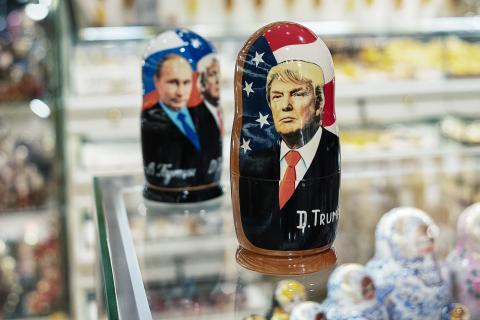 Putins Maschen: Heiße Dolmetscherin soll Donald Trump ablenken
