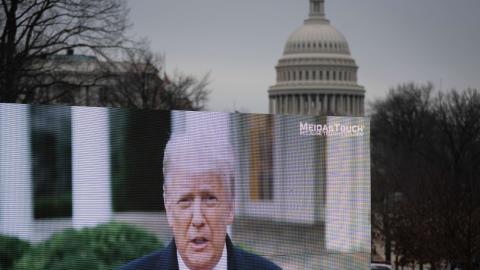 Trump: Nationalgarde sollte beim Sturm aufs Kapitol seine Anhänger schützen!