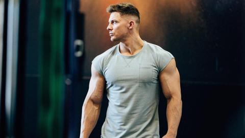 Kraftsportler Steve Cook zeigt die dunkle Seite des Bodybuildings