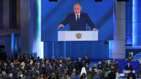 Putin: In seiner jährlichen Rede an die Nation offenbart er sein verzerrtes Selbstbild