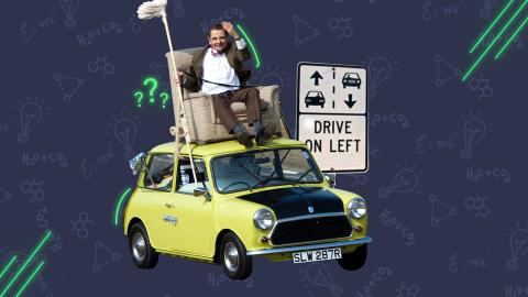 Straßenverkehr: Warum fahren die Briten auf der linken Seite?